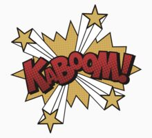 Kaboom One Piece - Short Sleeve