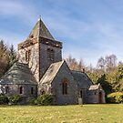Building, Church, Southwick parish church, Dumfries & Galloway by Hugh McKean