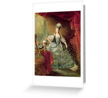 Portrait of Marie Antoinette (1755-93) Queen of France, 1775 (oil on canvas)  Greeting Card