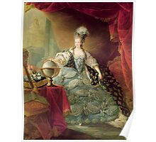 Portrait of Marie Antoinette (1755-93) Queen of France, 1775 (oil on canvas)  Poster