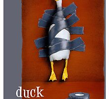 "Will Bullas card ""duck tape"" by Will Bullas"