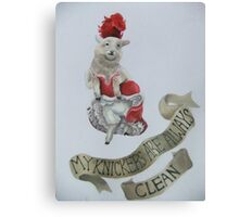 Wooly Knickers Canvas Print