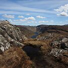 Loch Mama and Loch na Creige Duibhe by John Cameron