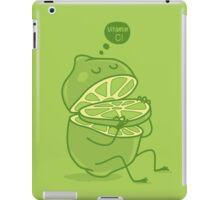 vitamin C iPad Case/Skin