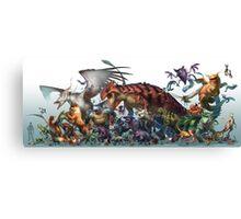 Realistic Pokemon-Season 1 Canvas Print