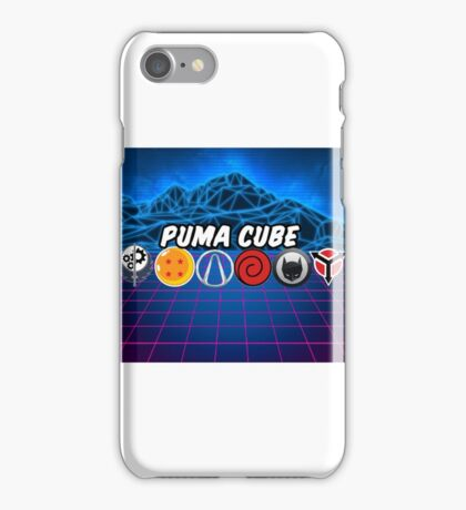 Puma Cube (Character Select) iPhone Case/Skin