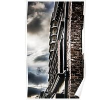 Dramatic Sky color splash Poster