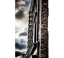 Dramatic Sky color splash Photographic Print