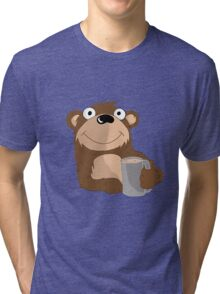 Beer Bear Tri-blend T-Shirt