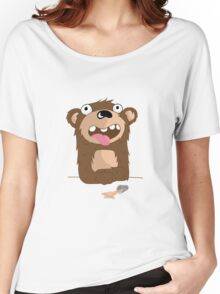 Drunk Bear Women's Relaxed Fit T-Shirt