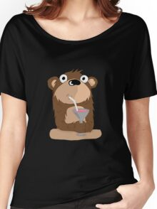 Cocktail Bear Women's Relaxed Fit T-Shirt
