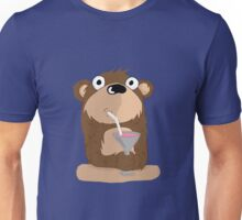 Cocktail Bear Unisex T-Shirt