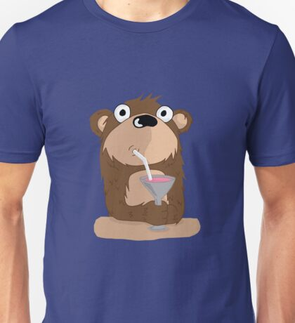 Cocktail Bear T-Shirt