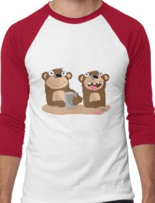 Twin Bears Men's Baseball ¾ T-Shirt