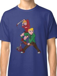 Red Riding Hood and Robin Hood: The Zombie Killing Hoods Classic T-Shirt