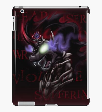 Fear and Wrath - The Shadow King iPad Case/Skin