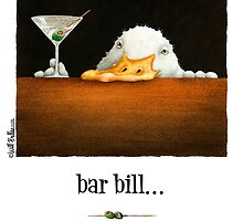 "Will Bullas card ""bar bill"" by Will Bullas"