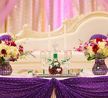 Awaiting the Bride and Groom by Debbie Cato