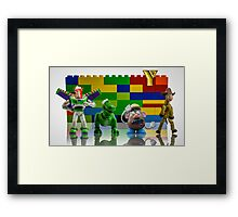 The Village Toys Framed Print