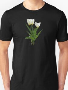 Backlit White Tulip Unisex T-Shirt