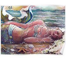 Let Sleeping Mermaids Lie Poster