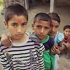 Nepali Children by Jamie Mitchell