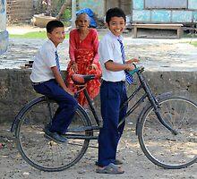 Nepali Generations by Jamie Mitchell