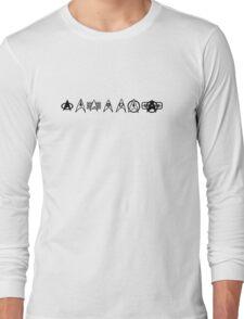 Star Trek insignias Long Sleeve T-Shirt