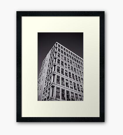 Concrete Monster #2 Framed Print