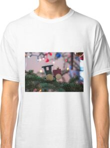 Train Engine Ornament  Classic T-Shirt