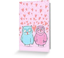 """JUST THE """"TWOO"""" OF US... Greeting Card"""