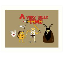 A Very Silly Time Art Print