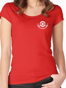 Pokemon Center Employee Women's Fitted Scoop T-Shirt