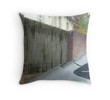 cold, dark and dreary II Throw Pillow