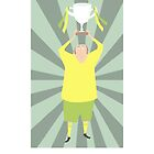 FOOTBALLING CONGRATULATIONS #2 by Jane Newland