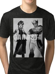 GANGSTA X-MEN (JUBILEE & WOLVERINE) Tri-blend T-Shirt