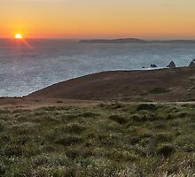 Sunset Bodega Bay by Richard Thelen