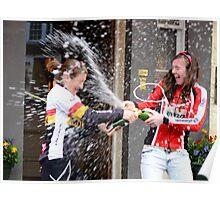 Champagne Celebration (Peebles Sprint Girl's Winner) Poster