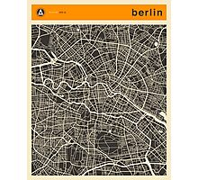 Berlin Map Photographic Print