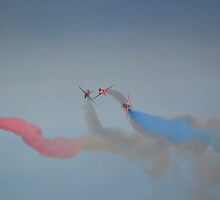 The Red Arrows by Nigel Bangert