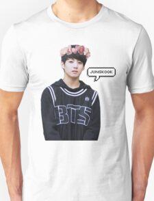 Jungkook Flower Crown Unisex T-Shirt