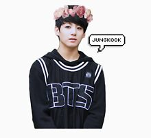 Jungkook Flower Crown Unisex T-Shirt