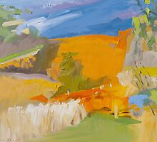 Golden Vineyards V by Lise Temple
