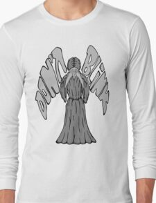 Don't Blink Weeping Angel Long Sleeve T-Shirt