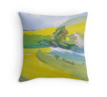 Canola study Throw Pillow