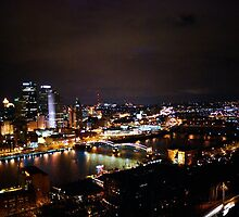 Pittsburgh Skyline by redhairedgirl