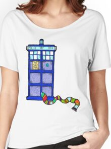 Tardis Scarf Women's Relaxed Fit T-Shirt