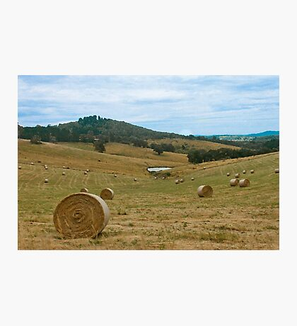 Victorian Hills Photographic Print