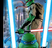 Turtle Jedis A by artofbacon