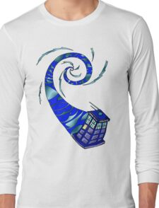 Timey Wimey Wibbly Wobbly Long Sleeve T-Shirt
